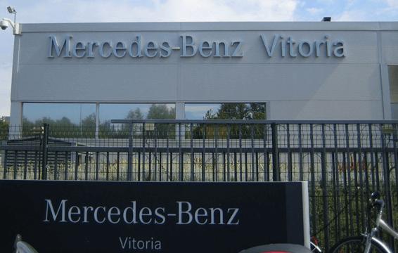 Factoría Mercedes Benz
